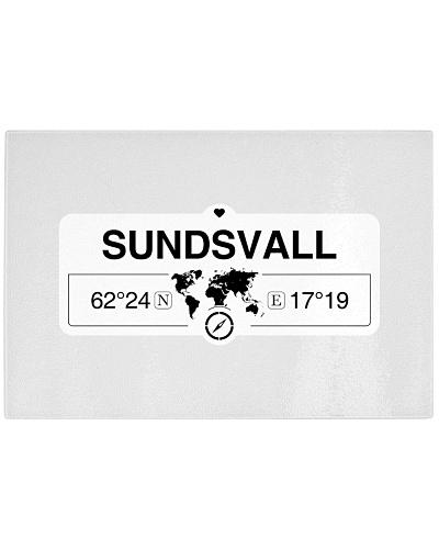 Sundsvall Vasternorrland Coordinate