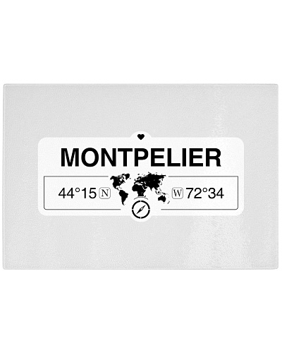 Montpelier Vermont Map Coordinates