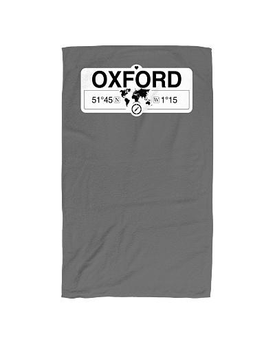 Oxford England GPS Map Coordinates