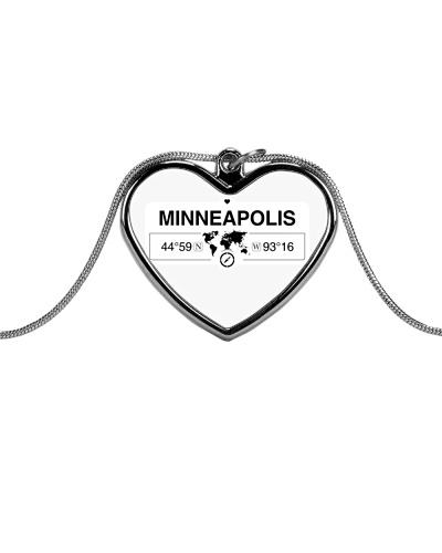 Minneapolis Minnesota Map Coordinates