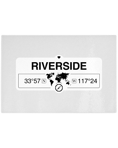 Riverside California Map Coordinates