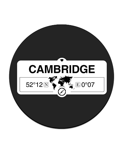 Cambridge England Map Coordinates