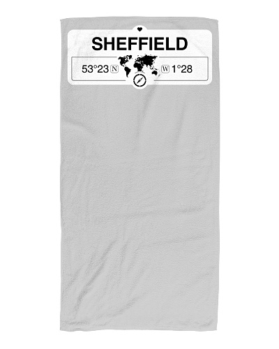 Sheffield England Map Coordinates