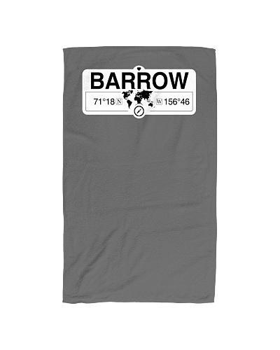 Barrow Alaska Map Coordinates