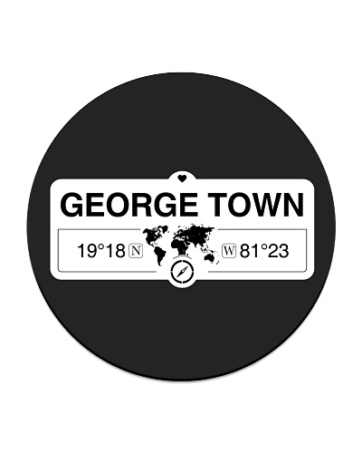 George Town Cayman Map Coordinates