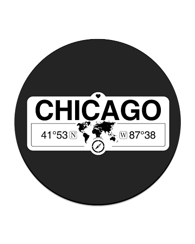 Chicago Illinois Map Coordinates