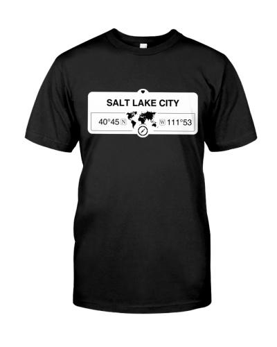 Salt Lake City Utah Map Coordinates