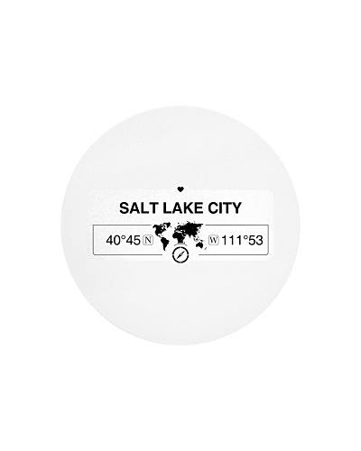 Salt Lake City Utah Map Coordinates