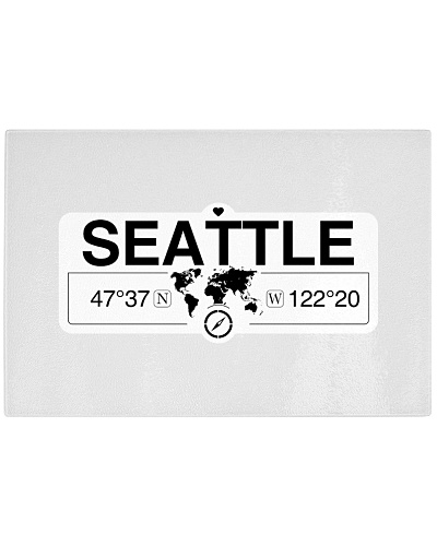 Seattle Washington Map Coordinates