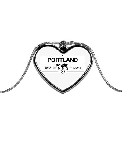 Portland Oregon Map Coordinates