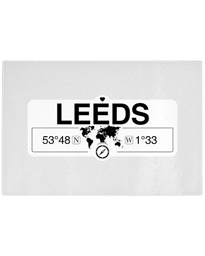 Leeds England GPS Map Coordinates