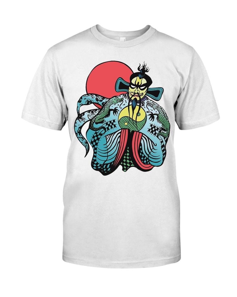 FU MANCHU BIG TROUBLE IN CHINA  Classic T-Shirt