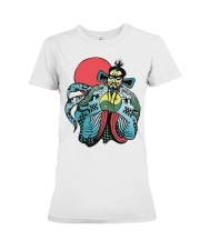 FU MANCHU BIG TROUBLE IN CHINA  Premium Fit Ladies Tee thumbnail