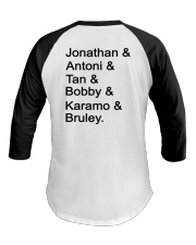 Limited edition Bruley Queer Eye's New Bulldog Baseball Tee back