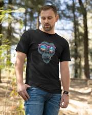Gorilla black round neck Classic T-Shirt apparel-classic-tshirt-lifestyle-front-49