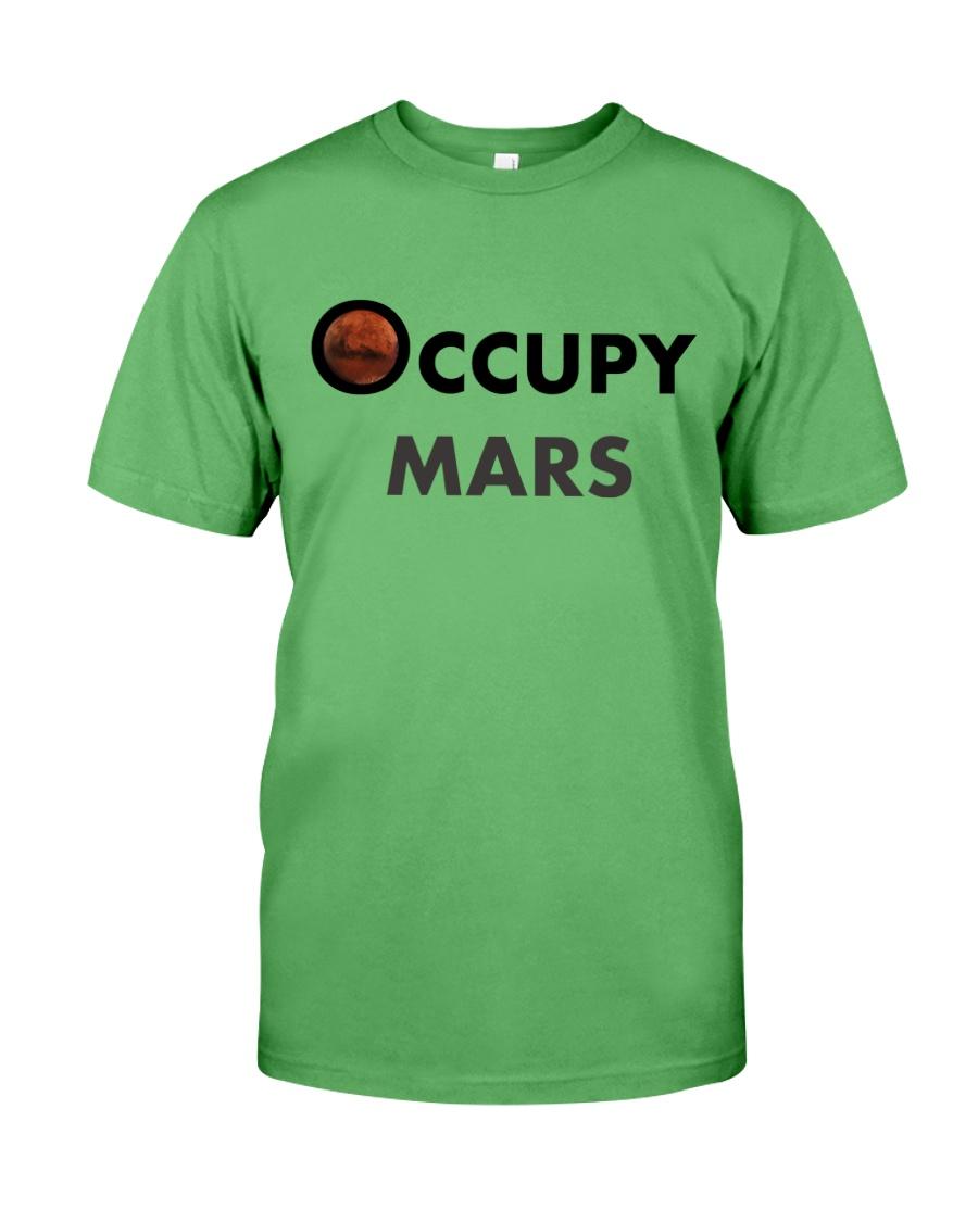 Occupy Mars T-Shirt - MEN - WOMEN Premium Fit Mens Tee