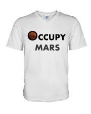 Occupy Mars T-Shirt - MEN - WOMEN V-Neck T-Shirt thumbnail