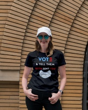 Vote And Tell Them Ruth Sent You T-shirt - LIMITED Premium Fit Ladies Tee lifestyle-women-crewneck-front-4