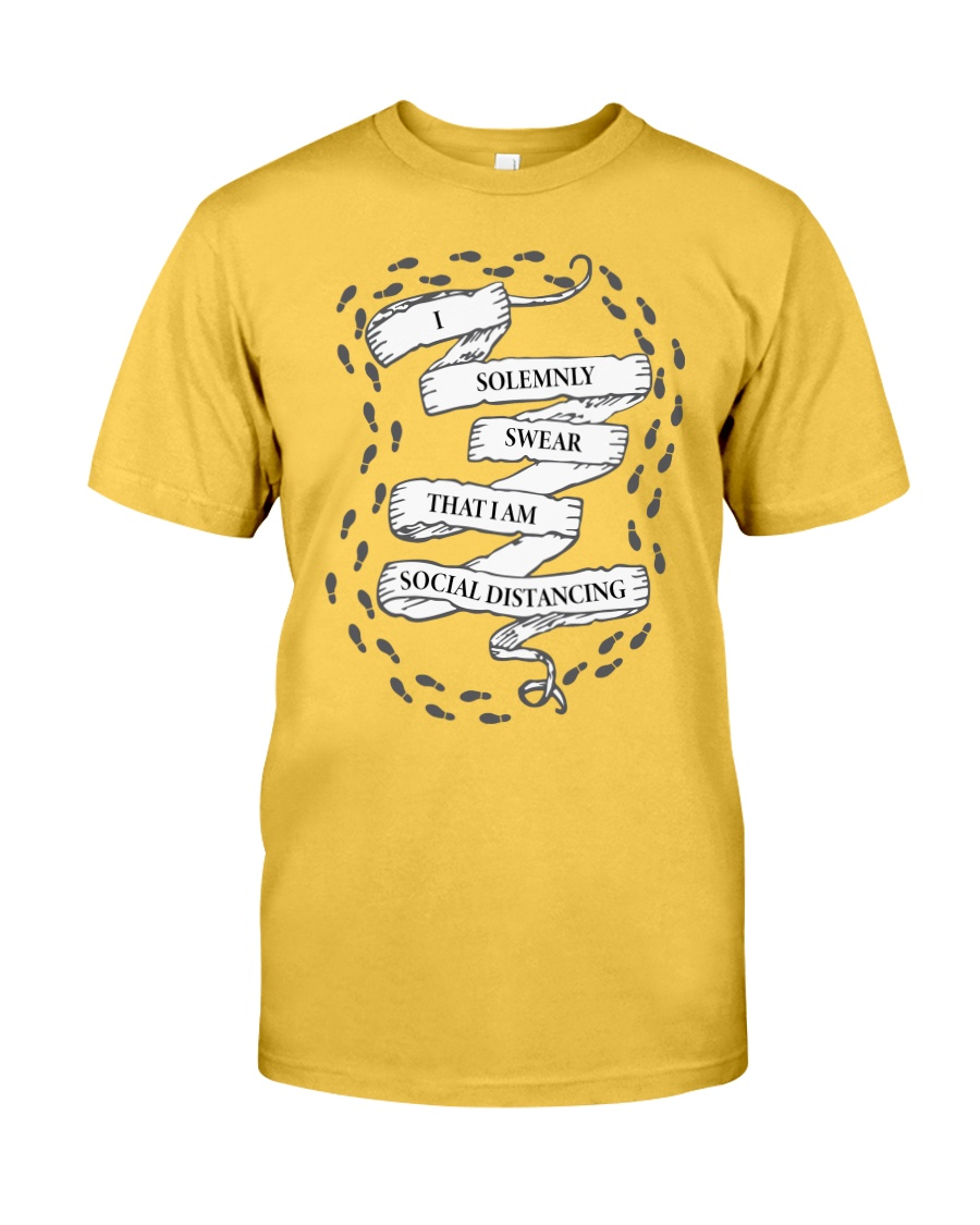 I solemnly swear that I am Social Distancing Classic T-Shirt