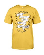 I solemnly swear that I am Social Distancing Classic T-Shirt front