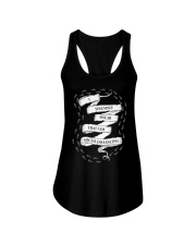 I solemnly swear that I am Social Distancing Ladies Flowy Tank thumbnail