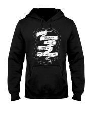 I solemnly swear that I am Social Distancing Hooded Sweatshirt thumbnail