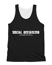Social Distancing All-over Unisex Tank thumbnail
