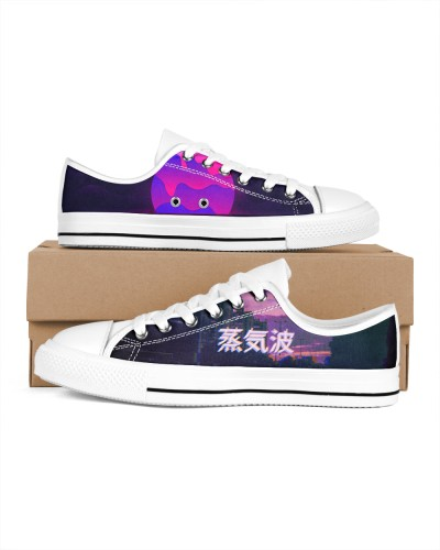Vaporwave Converse Shoes