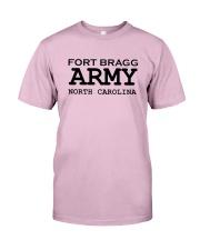US army fort bragg north carolina Classic T-Shirt front