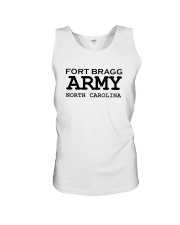 US army fort bragg north carolina Unisex Tank thumbnail