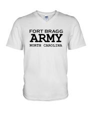 US army fort bragg north carolina V-Neck T-Shirt thumbnail