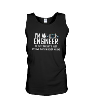 i'm an engineer Unisex Tank thumbnail