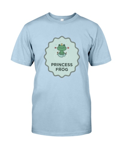Cute Princess and the Frog