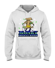 Hustle662Clothing Merch Hooded Sweatshirt front