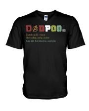 Limited Edition Dadpool V-Neck T-Shirt thumbnail