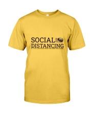 PUG SOCIAL DISTANCING Classic T-Shirt thumbnail