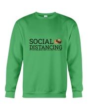 PUG SOCIAL DISTANCING Crewneck Sweatshirt thumbnail