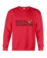 PUG SOCIAL DISTANCING Crewneck Sweatshirt front