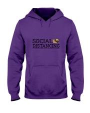 PUG SOCIAL DISTANCING Hooded Sweatshirt thumbnail