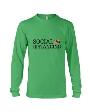 PUG SOCIAL DISTANCING Long Sleeve Tee front