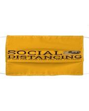 PUG SOCIAL DISTANCING Cloth face mask thumbnail