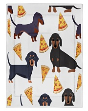 DACHSHUND WITH PIZZA Comforter - Twin XL front