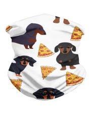 DACHSHUND WITH PIZZA Neck Gaiter thumbnail