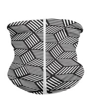 chevron striped cubes  Neck Gaiter - 5 Pack back