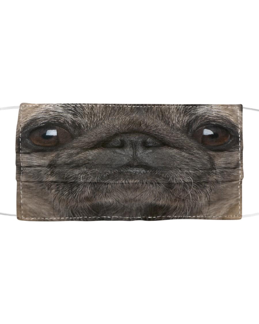 PUG FACE MASK Cloth face mask