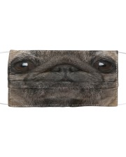 PUG FACE MASK Cloth face mask front