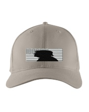 Donald trump portrait with silhouette style Embroidered Hat front