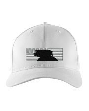 Donald trump portrait with silhouette style Embroidered Hat thumbnail