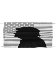 Donald trump portrait with silhouette style Cloth face mask thumbnail
