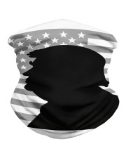 Donald trump portrait with silhouette style Neck Gaiter thumbnail